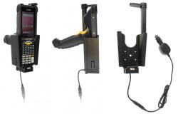 Support sécurisé avec chargeur allume-cigare Zebra MC9300 - Ref 712135
