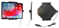 Support actif iPad Pro 12,9 (2018) avec chargeur allume-cigare et câble USB. Ref 721095