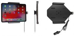 Support actif iPad Pro 11 2018 avec chargeur allume-cigare et câble USB. Ref 721094