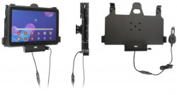 Support avec chargeur allume-cigare et sortie USB Galaxy Tab Active Pro T540/T545/T547/T547U - Ref 712149