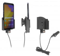Support actif Samsung Galaxy J4+ (SM-J415) avec chargeur allume-cigare et câble USB - Ref 721086
