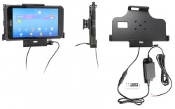 Support Samsung Galaxy Tab Active 2. SM-T390/SM-T395 pour installation fixe avec sortie USB - Ref 713093