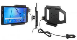 Support Huawei MediaPad T3 avec cable USB et adaptateur allume-cigare. Réf Brodit 521990