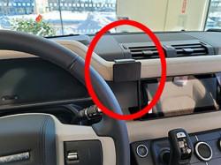 Fixation voiture proclip Land Rover Defender. Réf Brodit 855657