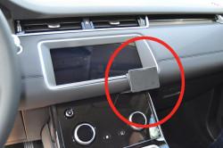 Fixation voiture ProClip Land Rover Range Rover Evoque UNIQUEMENT pour les modèles avec écran fixe (NON inclinable)- Ref 855562
