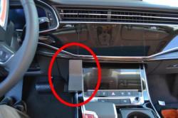 Fixation voiture proclip Audi Q7. Réf Brodit 835630