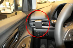 Fixation voiture proclip Hyundai i20. Réf Brodit 805660
