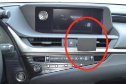 Fixation voiture ProClip Lexus ES Series 2019 - Ref 855454