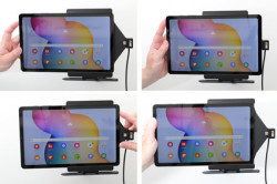 Support pour Samsung Galaxy Tab S6 Lite pour installation fixe. Réf Brodit 727211