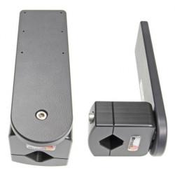 Pour tube diamètre 19-30 mm. Plaque de montage 160x50 mm. 6 trous pré-percés. Réf 215665