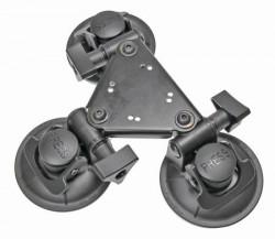Triple ventouse avec AMPS-plaque. Réf 215675