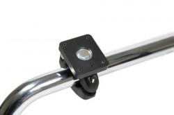Pour tube diamètre 22-31 mm et 19x25-22x35 mm. Plaque de montage 50x42 mm. Pré-percés AMPS-trous. Réf 215793
