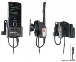 Support voiture  Brodit Nokia 6700 Classic  pour fixation cable - Pour Nokia câble d'origine CA-116, CA-113CU et CA-134. Réf 515037