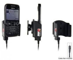 Support voiture  Brodit Nokia E72  pour fixation cable - Pour Nokia câble d'origine CA-116, CA-113CU et CA-134. Réf 515094