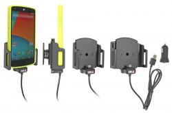 Support réglable. Convient appareils avec et sans étui de dimensions: Larg: 62-77 mm, épaiss.: 9-13 mm. Réf 521621