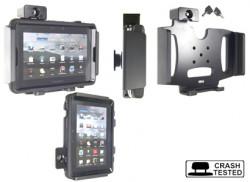 Support voiture Brodit BlackBerry PlayBook antivol - Support passif avec rotule. 2 clefs. Pour étui Otterbox Defender (non livré). Réf 539266