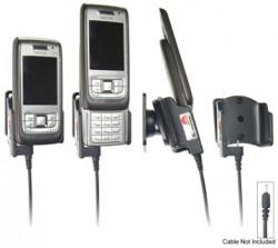Support voiture  Brodit Nokia E65  pour fixation cable - Pour Nokia câble d'origine CA-116, CA-113CU et CA-134. Réf 906147