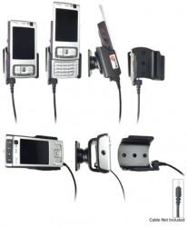 Support voiture  Brodit Nokia N95 4GB  pour fixation cable - Pour Nokia câble d'origine CA-116, CA-113CU et CA-134. Réf 906156