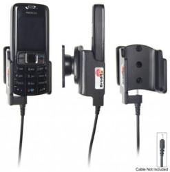 Support voiture  Brodit Nokia 3109  pour fixation cable - Pour Nokia câble d'origine CA-116, CA-113CU et CA-134. Réf 906162