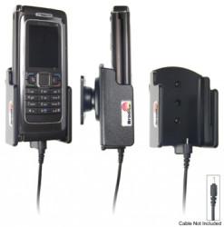 Support voiture  Brodit Nokia E90  pour fixation cable - Pour Nokia câble d'origine CA-116, CA-113CU et CA-134. Réf 906165