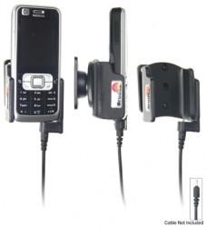 Support voiture  Brodit Nokia 6120 Classic  pour fixation cable - Pour Nokia câble d'origine CA-116, CA-113CU et CA-134. Réf 906167