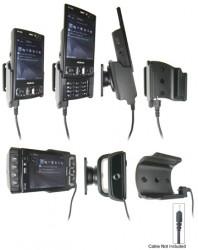 Support voiture  Brodit Nokia N95 8GB  pour fixation cable - Pour Nokia câble d'origine CA-116, CA-113CU et CA-134. Réf 906178