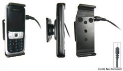 Support voiture  Brodit Nokia 2630  pour fixation cable - Pour Nokia câble d'origine CA-116, CA-113CU et CA-134. Réf 906197