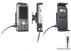 Support voiture  Brodit Nokia N82  pour fixation cable - Pour Nokia câble d'origine CA-116, CA-113CU et CA-134. Réf 906198