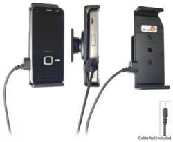 Support voiture  Brodit Nokia N78  pour fixation cable - Pour Nokia câble d'origine CA-116, CA-113CU et CA-134. Réf 906232