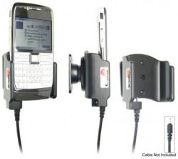 Support voiture  Brodit Nokia E71  pour fixation cable - Pour Nokia câble d'origine CA-116, CA-113CU et CA-134. Réf 906242