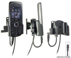Support voiture  Brodit Nokia 3120 Classic  pour fixation cable - Pour Nokia câble d'origine CA-116, CA-113CU et CA-134. Réf 906244