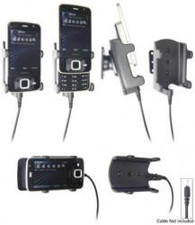 Support voiture  Brodit Nokia N96  pour fixation cable - Pour Nokia câble d'origine CA-116, CA-113CU et CA-134. Réf 906256