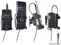 Support voiture  Brodit Nokia 6210 Navigator  pour fixation cable - Pour Nokia câble d'origine CA-116, CA-113CU et CA-134. Réf 906259