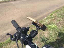 Support vélo moto en aluminium léger