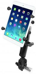 Support tablette 7 à 8 pouces montage sur tube