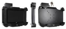 Support tablette Zebra ET50/55 8.3 pour appareil avec étui. Antivol, avec 2 clés. Avec connecteur DC. Réf 539901