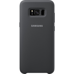 Coque de protection pour Samsung Galaxy S8 Plus en silicone gris. Réf EF-PG955TSEGWW