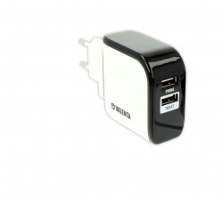 Chargeur allume cigare VUSBDUALWALL-WHT