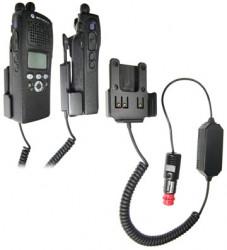 Support voiture  Brodit Motorola MTX 2500  avec chargeur allume cigare - Pour une utilisation avec des batteries NiCd ou NiMH. Réf 982483