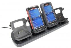 Support voiture  Brodit Honeywell Dolphin 70e Black  de table, bureau - Avec câble d'alimentation. Pour les appareils avec ou sans boot / bumper. Réf 215694