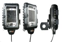 PDA Support pour les motos, diamètre 26,0 mm. Convient iPAQ 55xx et HP PDA plus petits. Réf 215002