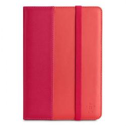 Étui-support à rayure pour iPad mini, rose