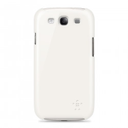 Etui Belkin Shield blanc pour Galaxy S3
