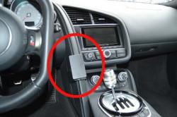Fixation voiture proclip Audi R8. Réf Brodit 855165