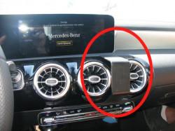 Fixation voiture Mercedes Benz Classe A. Réf Brodit 855423