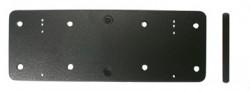 Plaque d'extension, 145x50x5 mm. Avec pré-percés AMPS-trous. Réf 213053