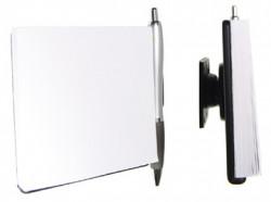 Notez-pad porte avec rotule. Bloc-notes et un stylo inclus. Réf 215100