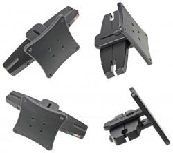 Fixation appui tête  Brodit Acura ILX Fixation appui tête - Appui-tête pour montage Vesa, norme 75x75mm. Pour appuie-tête avec les mesures suivantes entre les barres: Min. Taille intérieure de 95 mm, max. taille extérieure de 155 mm. Réf 810721