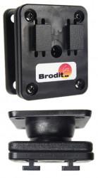 Montage  Brodit HP iPAQ 300 Series Montage - plaque vertical d'adaptation avec rotule, pour Arkon. Réf 215220