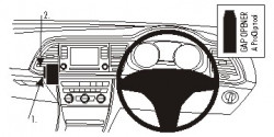 Fixation Seat Leon pour conduite à droite. Réf Brodit 654890